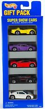 Hot Wheels Super Show Cars 5 Pack Gift Set w/Vector Avtec Purple Jaguar 1996 C2