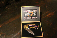 Dale  Earnhart Tribute to a legend collectors knife
