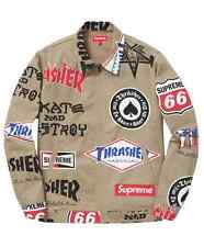 Supreme Thrasher Tan Work Jacket Medium
