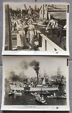 LITTLE OLD NEW YORK Henry King ALICE FAYE Fred MacMurray 2 Original Photo 1940 *