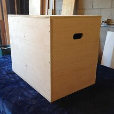 "30""x24""x20"" Plyo Box  MMA Exercise Equipment Crossfit Jump Plyometric"