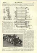 1915 West End Engine Works Super Calender Papermaking