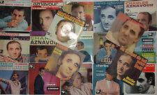 LOT DISQUES 45T SPECIAL CHARLES AZNAVOUR