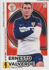 N°22 ERNESTO VALVERDE # ESPANA ATHLETIC CLUB STICKER CROMO PANINI LIGA 2015