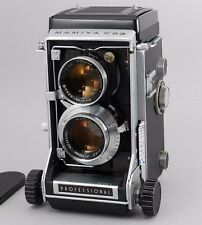 【Excellent+++】 Mamiya C33 Medium Format TLR Film Camera w/ 105mm f3.5 From Japan