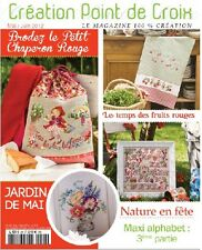French cross stitch magazine Creation point de croix No.20