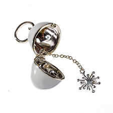Molly Brown Sterling Silver Christmas Snowflake Bracelet Necklace Charm For Her