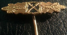 ✚6378✚ German post WW2 1957 pattern Close Combat Clasp Badge miniature pin badge