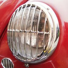 LUCE Anteriore GRIGLIE TRIPLE chrome per VW Porsche 356 Volkswagen Bug Bus Split aac2