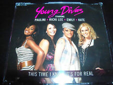 Young Divas This Time I Know Its For Real CD Single Ft Ricki Lee Paulini