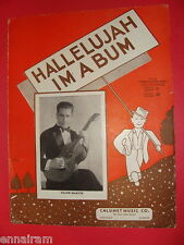 Hallelujah I'm a Bum 1935 Guitar solo  Manoloff  Frank Marvin cover art L Kunin