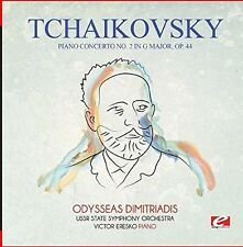 Piano Concerto No. 2 In G Major Op. 44 - Tchaikovsky (2015, CD NEUF) 8942320071