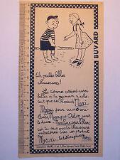 10C19 ANCIEN BUVARD PUBLICITAIRE PUB PRODUITS D'ENTRETIEN CUIR CHAUSSURES MAXI