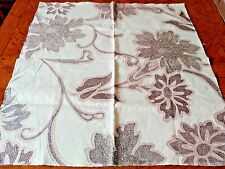 "SCALAMANDRE Fabric Remnant - CASERTA FLORAL - JACQUARD - 27"" x 26""  -   $258"