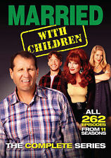 MARRIED WITH CHILDREN THE COMPLETE SERIES (DVD, 2015, 21-Disc Set) NEW