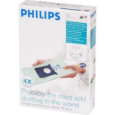 PHILIPS S-Bag FC8022/04 EPA Anti Allergy Vacuum Cleaner Bags Log Performance