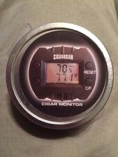 Cigar Tech Ciguardian Cigar Humidor Digital Hygrometer in Tin New Cigar Monitor