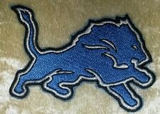 "Detroit Lions NFL 3.25"" Iron On Embroidered Patch ~USA Seller~FREE Ship!"