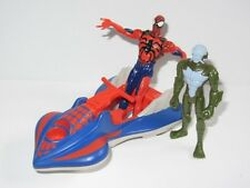 Marvel Universe Toy Figure Set  SPIDER-MAN with WATER VEHICLE  & TRIDENT