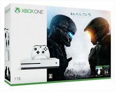 Microsoft 234-00062 Xbox One S 1TB Halo Collection Game Soft Console Japan F/S