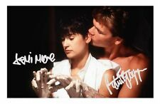 GHOST - DEMI MOORE & PATRICK SWAYZE AUTOGRAPHED SIGNED A4 PP POSTER PHOTO