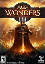 AGE OF WONDERS 3 DELUXE EDITION EU only [PC/Mac/Linux] STEAM key
