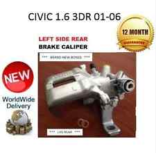 HONDA CIVIC 1.6 01-06 REAR BRAKE CALIPER NEW LEFT LH 43019S6MA01 NEW