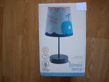 NEXT BOYS KIDS PIRATE AHOY TABLE LAMP  GOES BOYS bedset curtains