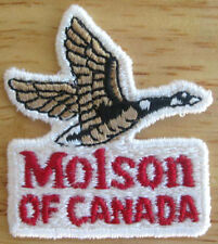 MOLSON OF CANADA small PATCH with CANADIAN GOOSE, for Jacket or Shirt, NICE