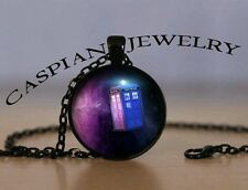 Doctor Who Space Galaxy Fashion Pendant Necklace Top quality