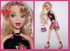 My Scene Doll & Fashion LOT Delancey Jamaica Beach Fashion Handbag & Heels