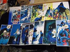 1984 Marvel Press Cloak and Dagger Poster Print Set of 10 Complete Rick Leonardi