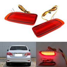 2PCS LED light  Rear Bumper lights Fog lamp lights For Toyota Corolla (2011-13)