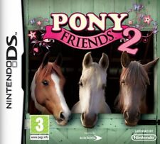 Pony Friends 2 (Nintendo DS DSi, Kids, Horse Video Game) Brand New Sealed