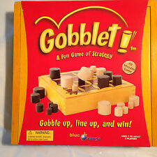 Gobblet! Board Game Strategy Tic-Tac-Toe (2002) 7 Yrs+ -2 Players+ slightly used