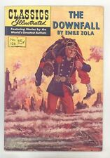 Classics Illustrated #126 No HRN (Original) FN+ The Downfall by Emile Zola