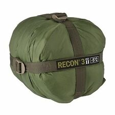 HALO Recon 3 Gen II Sleeping Bag -5°C Military Spec Tactical GREEN