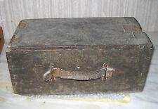 Antica Cassa MILITARE porta munizioni FIAT-REVELLI mod. 1914 in legno 1WW RARO