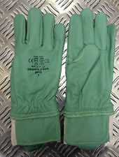 Polyco Granite 5 Beta Cut Resistant Leather & Kevlar Gloves Size 7 - BRAND NEW