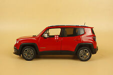 1/18 new Jeep Renegade diecast model car  red color