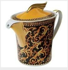 VERSACE BAROCCO TEA COFFEE POT WITH LID LARGE New Authentic SALE 1 only left
