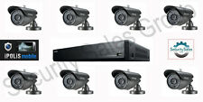 KIT CCTV SAMSUNG 1x 16 Channel DVR 1tb + 8x AD ALTA RES VANDAL PROOF Telecamere Bullet