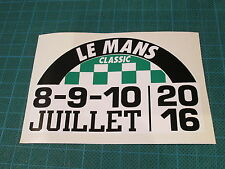 LEMANS LE MANS CLASSIC 2016 DECAL STICKER