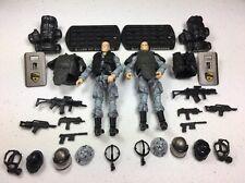 GI Joe Cobra ROC Rise Of Cobra Figure Lot Pit Commando x2 Army Builder