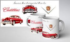 1948 Cadillac Collectors Mug Vintage 1950s Rock n Roll V8 Hot Rod Retro Classic