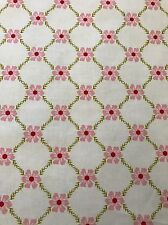 Riley Blake Pink Flowers with Green Vine Fabric BY THE YARD NEW!