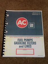 AC Fuel Pumps Catalog 1934-1974 Listings,Part #s,Cross Reference,Photos,MORE....