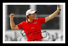 RORY MCILROY AUTOGRAPHED SIGNED & FRAMED PP POSTER PHOTO