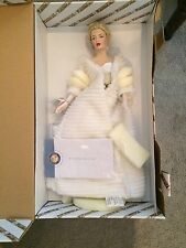 SEXY MARILYN MONROE ALL ABOUT EVE FRANKLIN MINT HEIRLOOMM DOLL MIB