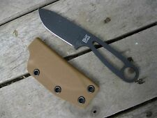Valhalla Custom Kydex Sheath Ka-Bar Kabar BK 14 Kydex COYOTE SHEATH ONLY